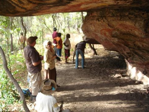 Visit to Mushroom Rock at Laura Cape York